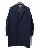 BEAUTY&YOUTH(ビューティーアンドユース)の古着「メルトンチェスターコート」 ネイビー