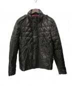AVIREX()の古着「GOAT QUILTE DOWN JACKET」|ブラック