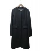 Paul Stuart(ポールスチュアート)の古着「ウールビーバーコート」 ブラック
