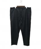 COMOLI()の古着「強縮ウールテーパードパンツ」|グレー