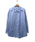 N.HOOLYWOOD(エヌハリウッド)の古着「SPRING2020 BIG SHIRT」|ブルー