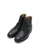 SANDERS(サンダース)の古着「Derby Boot」|ブラック