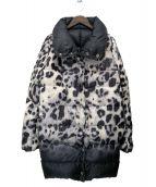 MONCLER(モンクレール)の古着「リバーシブルダウンコート」|ブラック