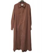 Banner Barrett(バナーバレット)の古着「シャツドレス」|ピンク