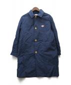 DANTON(ダントン)の古着「Nylon Taffeta Coat」|ブルー