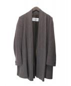 MaxMara(マックスマーラ)の古着「キャメルアンゴラ混ガウンコート」|ブラウン