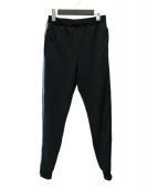 PRADA(プラダ)の古着「サイドライントラックパンツ」|ブラック×ブルー