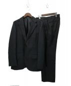MACKINTOSH PHILOSOPHY(マッキントッシュフィロソフィー)の古着「トロッター3ピーススーツ」 ブラック