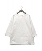 SINME(シンメ)の古着「7分袖丈ラグランカットソー」|ホワイト