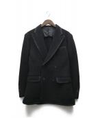 SOVEREIGN(ソブリン)の古着「ウールダブルジャケット」|ブラック