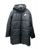NIKE(ナイキ)の古着「中綿ベンチコート」|ブラック