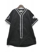 ()の古着「ベースボールシャツ」|ブラック
