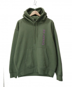 LONELY/論理(ロンリー)の古着「20AW 別注GION BITCH HOODIE」|グリーン