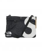 SUPREME × THE NORTH FACE(シュプリーム × ザノースフェイス)の古着「20AW S Logo Shoulder Bag」|ホワイト×ブラック