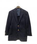 SOVEREIGN(ソブリン)の古着「モヘア金釦紺ブレザー」|ネイビー