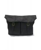 土屋鞄(ツチヤカバン)の古着「ビークル ハーフフラップショルダー」 ネイビー