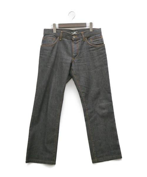 DOLCE & GABBANA(ドルチェ&ガッバーナ)DOLCE & GABBANA (ドルチェ&ガッバーナ) デニムパンツ ブラック サイズ:46の古着・服飾アイテム