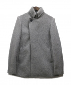 ck Calvin Klein(シーケーカルバンクライン)の古着「ウール混コート」|グレー