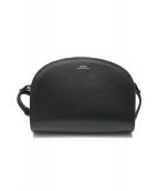 A.P.C.(アーペーセー)の古着「ハーフムーンバッグ」|ブラック