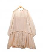 N°21(ヌメロヴェントゥーノ)の古着「シルクワンピース」|ピンク