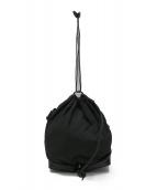 ()の古着「ポケッタブルミニショルダーバッグ」 ブラック