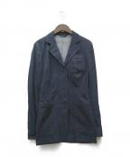 PRADA()の古着「インディゴテーラードジャケット」|インディゴ
