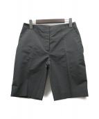 PRADA(プラダ)の古着「シルク混ショートパンツ」|グレー