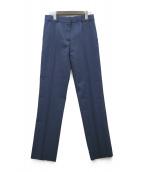 BALENCIAGA(バレンシアガ)の古着「センタープレスパンツ」 ブルー
