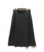 自由区(ジユウク)の古着「ロングスカート」|ネイビー
