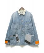 N.HOOLYWOOD × Lee(エヌハリウッド × リー)の古着「リメイクカバーオール」|インディゴ