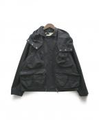 SEVESKIG(セヴシグ)の古着「ストレッチマルチファンクションジャケット」|ブラック