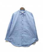 ALLEGE(アレッジ)の古着「21SS Standard Shirt」 ブルー