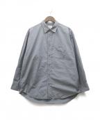 ALLEGE(アレッジ)の古着「21SS Standard Shirt」 グレー