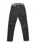 ACNE STUDIOS Bla konst(アクネ ストゥディオズ ブロ コンスト)の古着「デニムパンツ」 ブラック