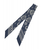 HERMES(エルメス)の古着「ツイリースカーフ」|ネイビー