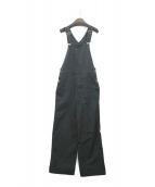 BEAUTY&YOUTH(ビューティーアンドユース)の古着「セルロースナイロンオーバーオール」|ブラック