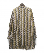 KAPTAIN SUNSHINE(キャプテンサンシャイン)の古着「Pullover Band Collar Shirt」|ブラウン