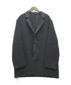 ()の古着「リネン混テーラードジャケット」|ブラック