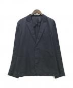 VIKTOR&ROLF(ヴィクター&ロルフ)の古着「2Bジャケット」 ネイビー