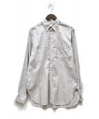 ()の古着「チェックシャツ」 ホワイト