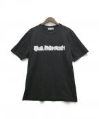 Gosha Rubchinskiy(ゴーシャ ラブチンスキー)の古着「プリントTシャツ」 ブラック