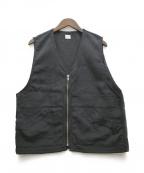 kaiko(カイコー)の古着「ナイロンベスト」|ブラック