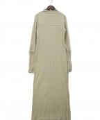 TODAYFUL(トゥデイフル)の古着「Piping Rib Dress」 グリーン