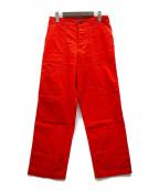 GAIJIN MADE(ガイジンメイド)の古着「イカットベイカーパンツ」|レッド