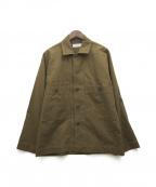 MARKA(マーカ)の古着「ユーティリティーシャツジャケット」|ブラウン