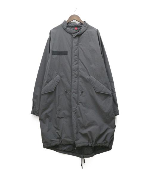 ALPHA(アルファ)ALPHA (アルファ) M-65モッズコート グレー サイズ:XL TA1463-001の古着・服飾アイテム