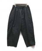 オローネ(オローネ)の古着「バルーンパンツ」|ブラック