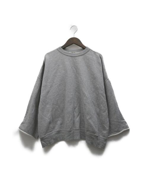 AURALEE(オーラリー)AURALEE (オーラリー) HIGH GAUGE SWEAT BIG PO グレー サイズ:1 A6SP02HSの古着・服飾アイテム