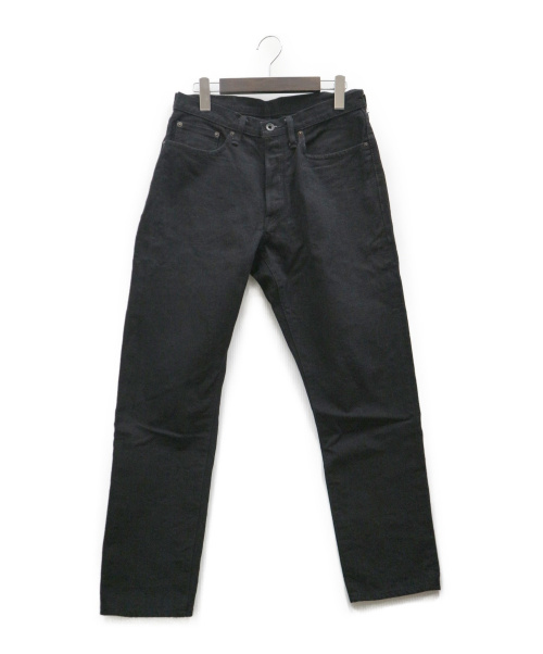 sanca(サンカ)sanca (サンカ) BLK DENIM TAPERED 5Pデニムパンツ ブラック サイズ:1 S19FPT03の古着・服飾アイテム