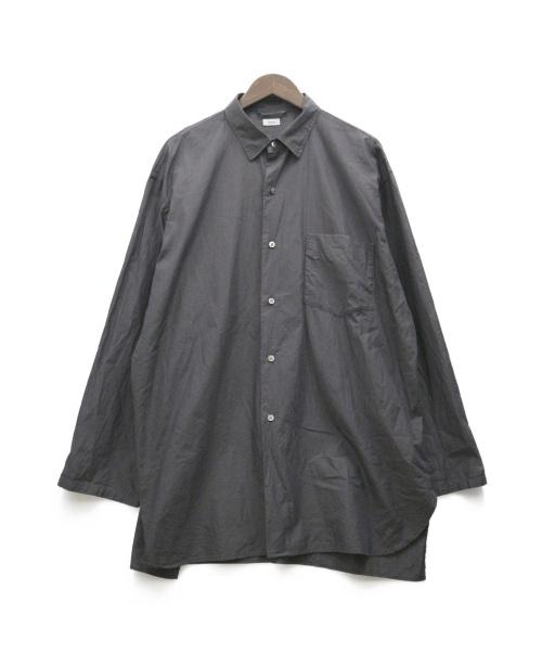 blurhms × LECHOPPE(ブラームス × レショップ)blurhms × LECHOPPE (ブラームス × レショップ) 別注SHIRT ブラック サイズ:表記なしの古着・服飾アイテム
